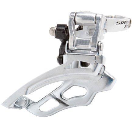 SRAM X.9 3X9 High Clamp Top Pull 34.9 Front Derailleur