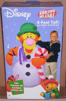 Disney Tigger Christmas Airblown Inflatable 4