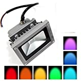 10w RGB led flood light outdoor ip65