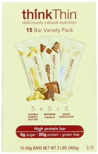 thinkThin Variety Pack (arachide croquant,