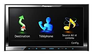 "Pioneer AVIC-Z130BT 7"" In-Dash Navigation AV Receiver with iPod/iPhone Control, Bluetooth, Pandora"