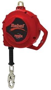 DBI/Sala 3590681 Rebel 100-Feet Self Retracting Lifeline with Carabiner And Self Locking Swivel Snap Hook