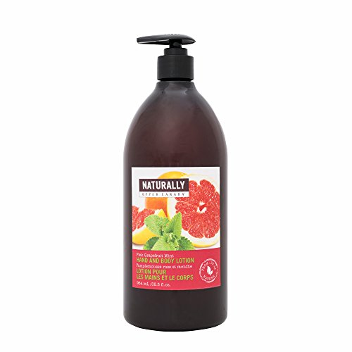 Naturally Hand and Body Lotion, Pink/Grapefruit Mint, 32.5 Fluid Ounce (Naturally Upper Canada Lotion compare prices)