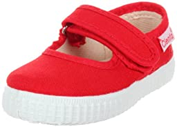Cienta 56000 Mary Jane Fashion Sneaker  ,Red,20 EU (4 M US Toddler)