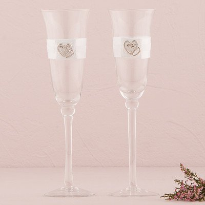 Classic-Double-Heart-Toasting-Set-White