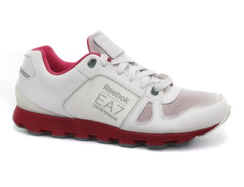 Reebok Emporio Armani Runner 7 White Womens Running Shoes
