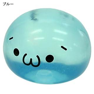 プニプニ顔文字くんマスコット/ショボーン(´・ω・`)ver【ブルー】かおもじグッズ通販