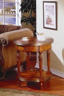 Cheap Fairfax Home Furnishings Gallery Rounded End Table (B003KZ3WFC)