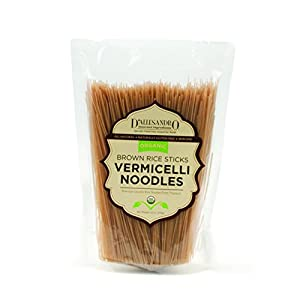 Amazon.com : Organic Brown Rice Sticks (Vermicelli) 12 Oz