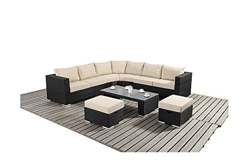 Sydney Urban Garden Möbel Abgerundete Ecke Sofa-Set