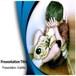 Domestic Violence Child Powerpoint Templates - Domestic Violence Child Powerpoint (PPT) Presentation