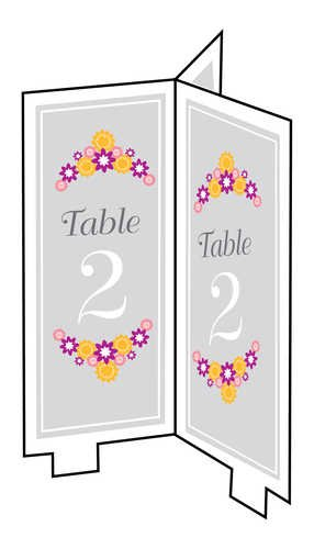 Creative Converting I Do Cake, Table Card Numbers, Package of 24 - 1