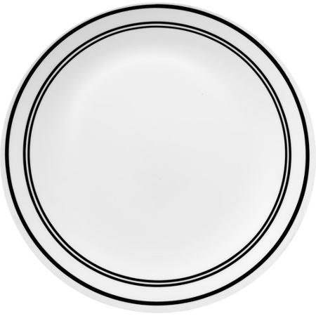 Corelle Livingware 6-Piece Dinner Plate, Classic Cafe Black, Dishwasher and Microwave Safe (Clearance Corelle Dishes compare prices)