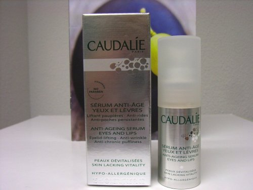 Caudalie Anti-Ageing Serum Eyes and Lips - 0.5 oz