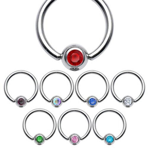 EXACT4U-Captive-Bead-Ring-CBR-Kugel-mit-Kristall-Chirurgenstahl-316L-piercing-helix-tragus-KLAR