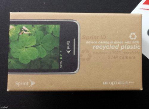 Sprint LG Optimus Elite Bluetooth Android GPS NFC Phone