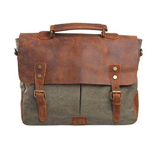 imayson-men-womens-vintage-canvas-leather-schoolbag-shoulder-crossbody-messenger-bagarmygreen