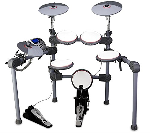Carlsbro-CDS200-Digital-Drum-Kit-Complete-with-Pedals-and-Drum-rack