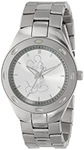 Disney Men's 59007-1 Stainless Steel Mickey Mouse Watch