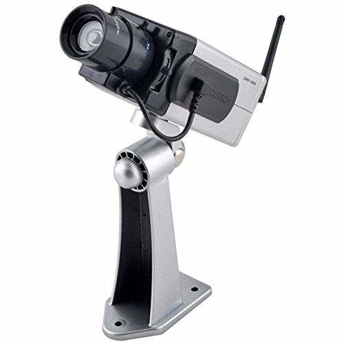 Fake Dummy Home Surveillance Security Camera Infrared Antenna Motion Cam Cctv #4