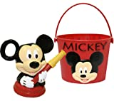 Midwest Gloves and Gear MY13P04-EA-AZ-6 Mickey Mouse Bucket and Watering Can Combo Pack