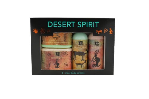 Gift Set Features Two 3 Oz. Glycerin Bath Soaps And Two 2 Oz. Lotions. Fragrances Include Cucumber Melon And Honey Almond. Made In Usa Hand And Body Lotions Are Greaseless And Contains No Lanolins, Silicons, Glycerins, Or Mineral Oils. Absorbs Immediately
