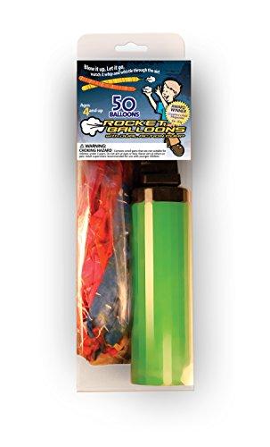 The Original Stomp Rocket: Duel-Action Balloon Pump with 50 Reusable Balloons (82350)