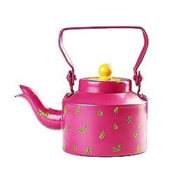 PoppadumArt Chai Kettle Pink
