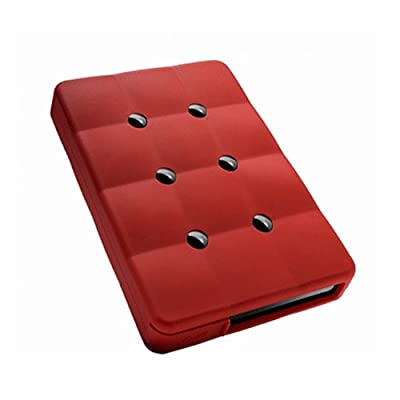 A-Data ASH14-1TU3-CRD 2.5 inch 1TB USB 3.0 External Hard Drive with Transfer Rates Up to 5 GB/s - Red from Adata