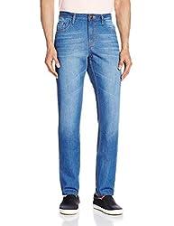 Cherokee Men's Slim Fit Jeans (8907242788012_267694961_34W x 33L_Blue)