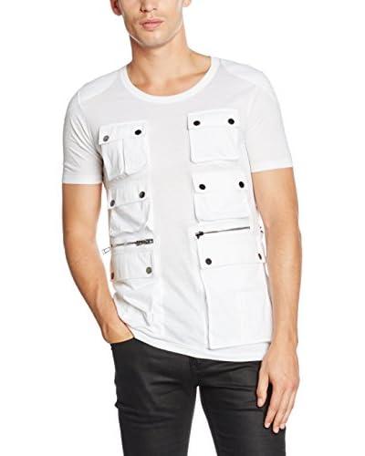 Belstaff T-Shirt Manica Corta Cannerby [Bianco]