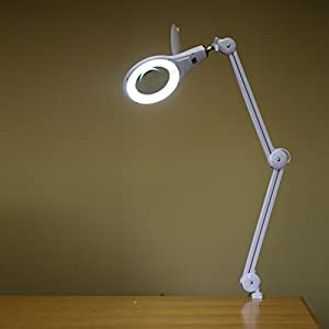 Amazoncom ultra efficient desk clamp mount 56 smd led for Amazon magnifier floor lamp