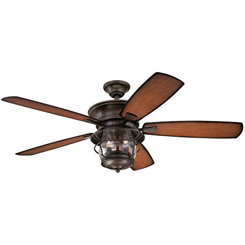 Westinghouse 7800000 brentford 52 inch aged walnut indooroutdoor westinghouse 7800000 brentford 52 inch aged walnut indooroutdoor ceiling fan light kit with clear seeded glass aloadofball Gallery