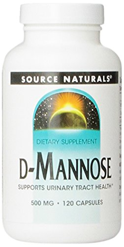 D-Mannose 500 mg - 120 Caps by Now Foods