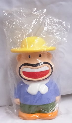 Meiji ノベルティソフビ貯金箱 カールおじさん
