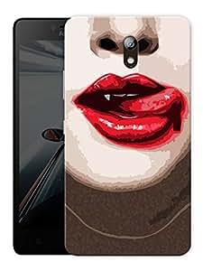 "Humor Gang Vampire Seduce Printed Designer Mobile Back Cover For ""Lenovo Vibe P1m"" (3D, Matte Finish, Premium Quality, Protective Snap On Slim Hard Phone Case, Multi Color)"