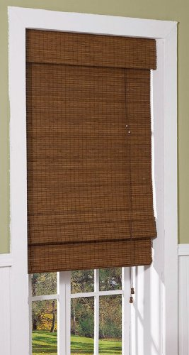 Radiance 0216200 Cape Cod Bamboo Roman Shade, 23-Inch Wide by 72-Inch Long, Maple (Blinds French Doors compare prices)