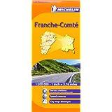 Franche-Comté Michelin Regional Map (Michelin Regional Maps)