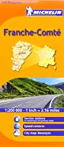 Michelin Map Franche-Comte, France (Michelin Maps)