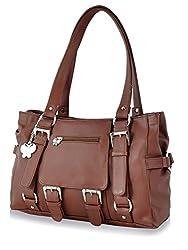 Butterflies Women's Handbag (Rust) (BNS 0356 RST)