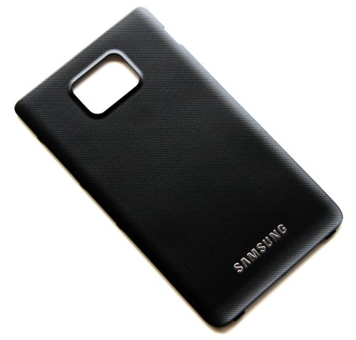 Genuine OEM Samsung Galaxy S2 i9100 Back Cover Battery Door Housing Original Black by Samsung