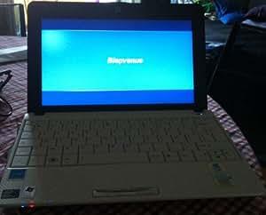 "Asus EEE PC 1001PX-WHI003S Netbook 10,1"" Intel Atom N450 250 Go RAM 1024 Mo Windows 7 jusqu'à 11h d'utlisation Blanc"