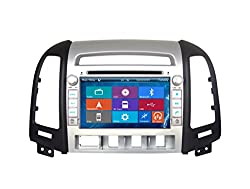 See Crusade Car DVD Player for Hyundai Santa Fe 2006-2012 Support 3g,1080p,iphone 6s/5s,external Mic,usb/sd/gps/fm/am Radio 7 Inch Hd Touch Screen Stereo Navigation System+ Reverse Car Rear Camara + Free Map Details