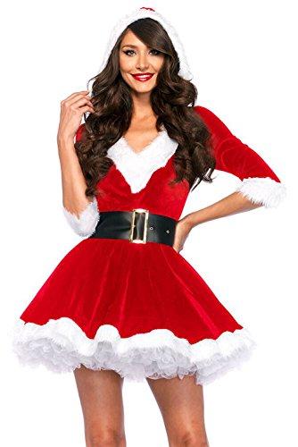 la-vogue-v-auschnitt-weihnachtsmann-kostum-elfe-weihnachten-santa-outfit