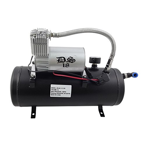 DS18  DS18 AC 1.5 Gallon Tank with 150 Psi Compressor