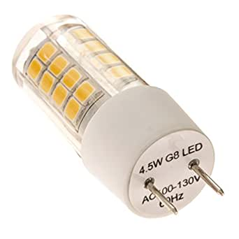g8 led light bulb by 2tech 4 5w 40 watts equivalent. Black Bedroom Furniture Sets. Home Design Ideas