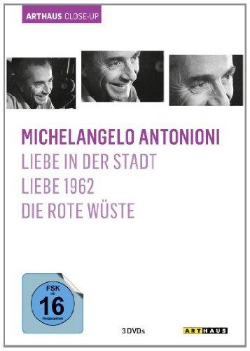 Michelangelo Antonioni - Arthaus Close-Up (Liebe in der Stadt / Liebe 1962 / Die rote Wüste) [3 DVDs]