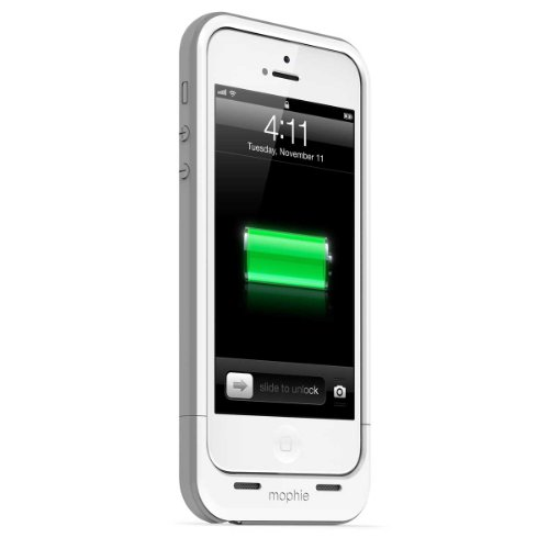 日本正規代理店品mophie juice pack plus for iPhone 5s/5 ホワイト MOP-PH-000034