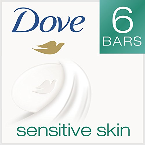 Dove Beauty Bar, Sensitive Skin 4 oz, 6 bar (Dove Beauty Bar Sensitive Skin compare prices)