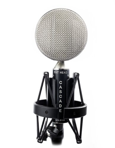 Cascade Microphones Fat Head (Lundahl) - Black/Silver